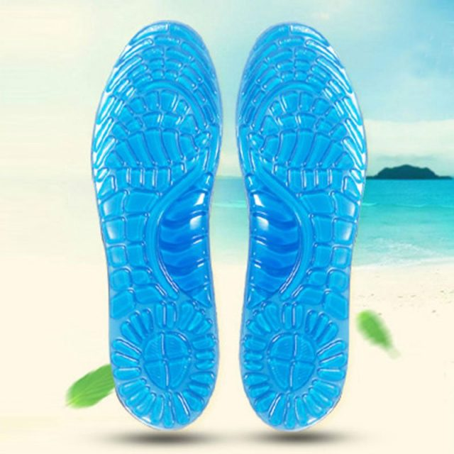 Comfortable Soft Silicone Orthopedic Insoles