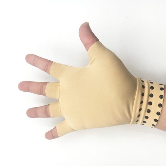 Magnetic Therapy Half-Finger Gloves